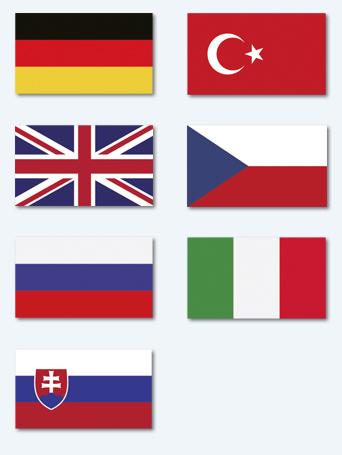 In unserer Zahnarztpraxis Fremdsprachen